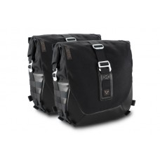 Legend Gear side bag system LC Black Edition. Kawasaki Z900RS/ Cafe