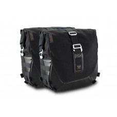 Legend Gear side bag set - Black Edition. Triumph Bonneville T100 (16-) / T120 (15-). (BC.HTA.11.743.20100)