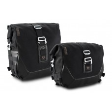 Legend Gear side bag set - Black Edition. Dyna Street Bob (06-08), Low Rider (06-09). (BC.HTA.18.778.20200)