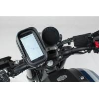 Чехол для навигатора, смартфона комплект с креплением на руль, зеркало итд.
