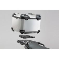 Комплект центрального кофра для HONDA NC 700 S / SD, NC 700 X / XD (серебристый)