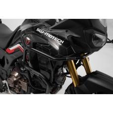 Верхние защитные дуги черного цвета для Honda CRF1000L Africa Twin (15-) (SBL.01.622.10200/B)
